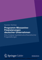 Programm-Mezzanine-Finanzierungen deutscher Unternehmen