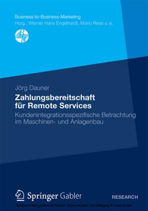 Zahlungsbereitschaft für Remote Services
