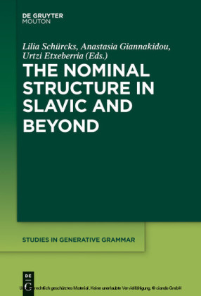 The Nominal Structure in Slavic and Beyond