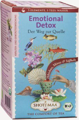 Emotional Detox - Wasser, Tee-Aufgussbeutel