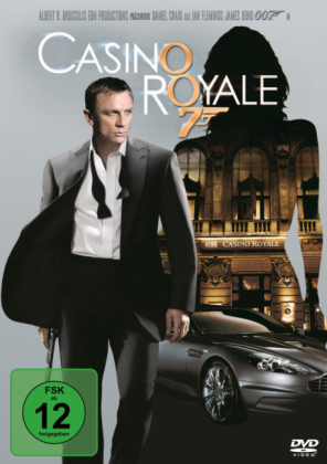 James Bond - Casino Royale, 1 DVD