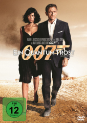 James Bond 007 - Ein Quantum Trost, 1 DVD Cover