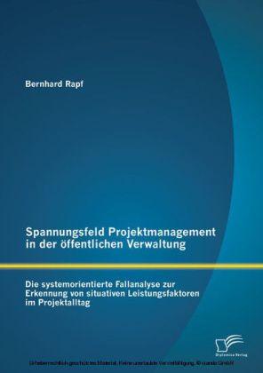 Spannungsfeld Projektmanagement in der öffentlichen Verwaltung: Die systemorientierte Fallanalyse zur Erkennung von situativen Leistungsfaktoren im Projektalltag