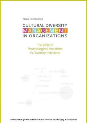 Cultural Diversity Management in Organizations: The Role of Psychological Variables in Diversity Initiatives