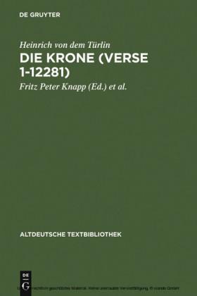 Die Krone (Verse 1-12281)