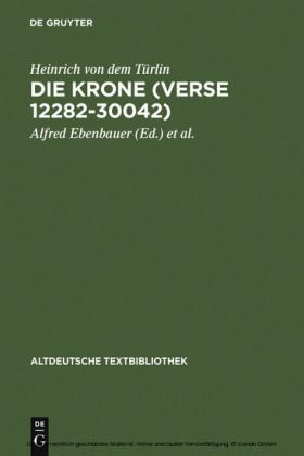 Die Krone (Verse 12282-30042)