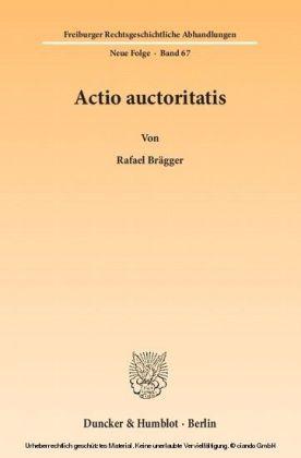 Actio auctoritatis