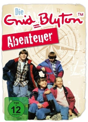 Enid Blyton - Abenteuer, 4 DVDs