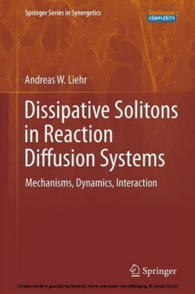 Dissipative Solitons in Reaction Diffusion Systems