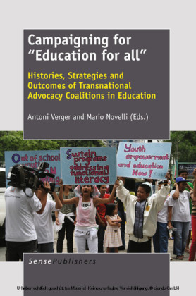 Campaigning for 'Education for all'