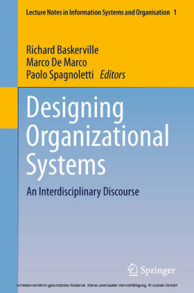 Designing Organizational Systems