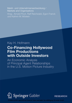 Co-Financing Hollywood Film Productions with Outside Investors