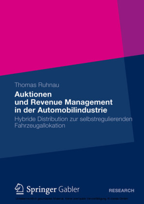 Auktionen und Revenue Management in der Automobilindustrie