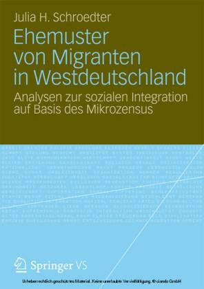 Ehemuster von Migranten in Westdeutschland