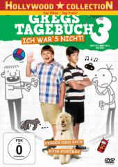 Gregs Tagebuch 3 - Ich war's nicht!, 1 DVD Cover
