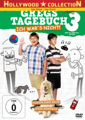 Gregs Tagebuch 3 - Ich war's nicht!, 1 DVD