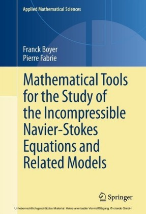 Mathematical Tools for the Study of the Incompressible Navier-Stokes Equations and Related Models
