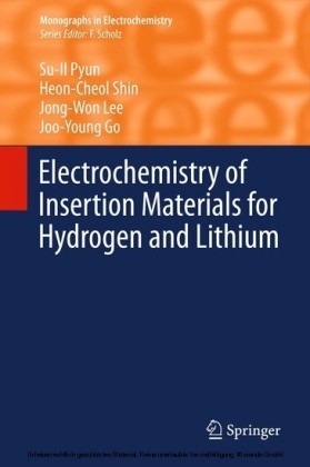 Electrochemistry of Insertion Materials for Hydrogen and Lithium
