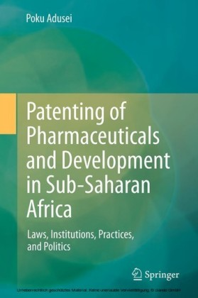 Patenting of Pharmaceuticals and Development in Sub-Saharan Africa