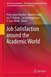 Job Satisfaction around the Academic World. Vol.7