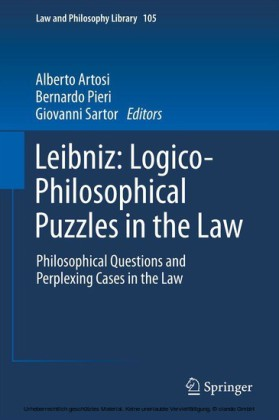Leibniz: Logico-Philosophical Puzzles in the Law