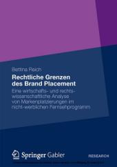 Rechtliche Grenzen des Brand Placement
