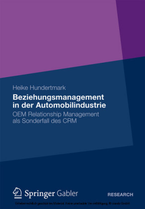 Beziehungsmanagement in der Automobilindustrie