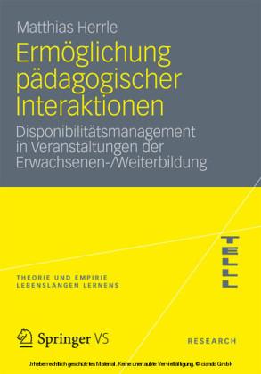 Ermöglichung pädagogischer Interaktionen