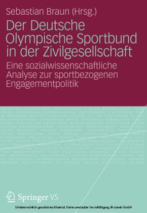 Der Deutsche Olympische Sportbund in der Zivilgesellschaft