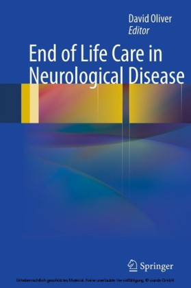 End of Life Care in Neurological Disease