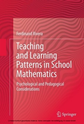Teaching and Learning Patterns in School Mathematics