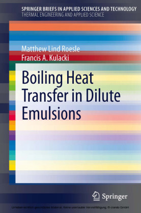 Boiling Heat Transfer in Dilute Emulsions