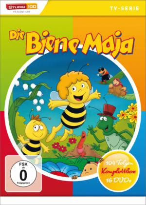 Die Biene Maja Komplettbox, 16 DVD