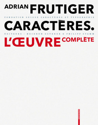 Adrian Frutiger - Caractères