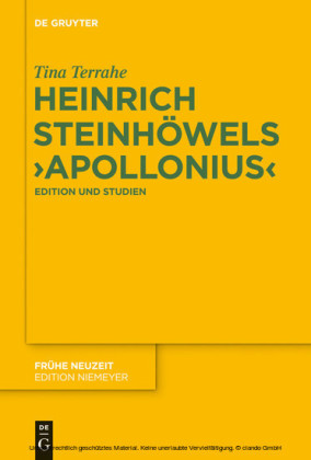 Heinrich Steinhöwels 'Appolonius'