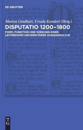 Disputatio 1200-1800