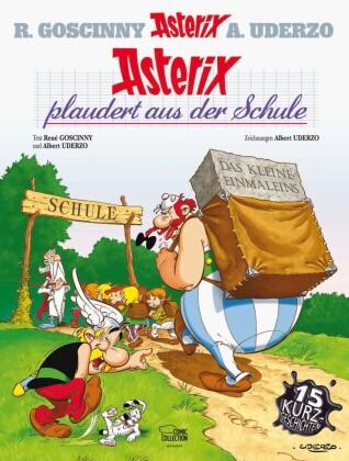 Cover des Mediums: Asterix plaudert aus der Schule