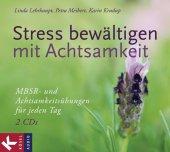 Stress bewältigen mit Achtsamkeit, 2 Audio-CDs Cover