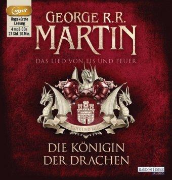 Das Lied von Eis und Feuer - Die Königin der Drachen, 4 MP3-CDs