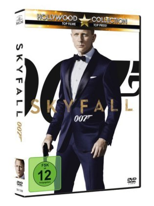 James Bond 007 - Skyfall, 1 DVD