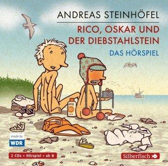 Rico, Oskar und der Diebstahlstein, 2 Audio-CDs
