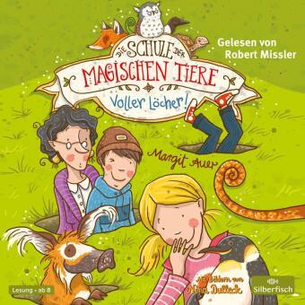 Die Schule der magischen Tiere - Voller Löcher!, 2 Audio-CDs