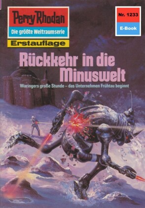 Perry Rhodan - Rückkehr in die Minuswelt (Heftroman)