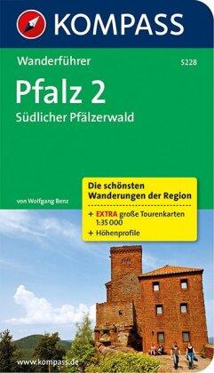 KOMPASS Wanderführer Pfalz 2, Südlicher Pfälzerwald
