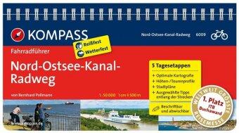 KOMPASS Fahrradführer Nord-Ostsee-Kanal-Radweg