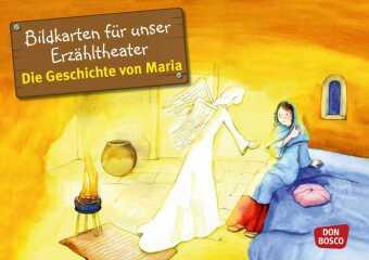 Bildkarten für unser Erzähltheater: Die Geschichte von Maria