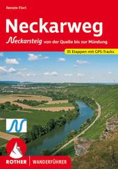 Rother Wanderführer Neckarweg Cover