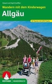Rother Wanderbuch Wandern mit dem Kinderwagen, Allgäu Cover