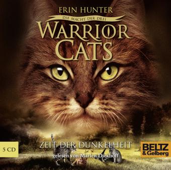 Warrior Cats - Die Macht der drei, Zeit der Dunkelheit, 5 Audio-CDs