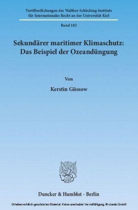 Sekundärer maritimer Klimaschutz: Das Beispiel der Ozeandüngung.